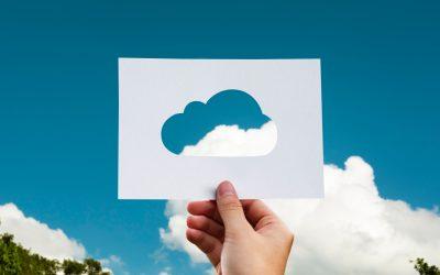 ¿Cómo almacenar en la nube?