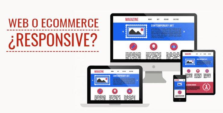 responsive web y ecommerce