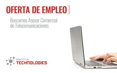 BUSCAMOS ASESOR COMERCIAL EN TELECOMUNICACIONES