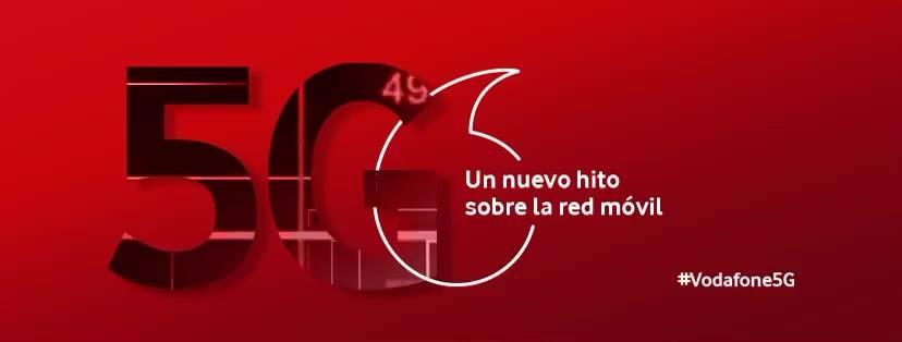 La primera llamada con 5G en el mundo la hace Vodafone