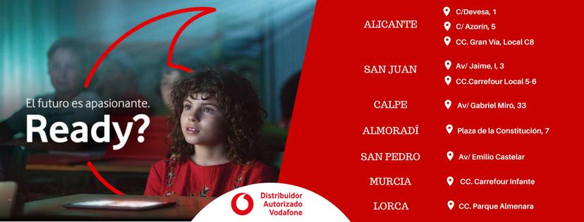 Ampliamos nuestra red de tiendas Vodafone en Murcia y Lorca