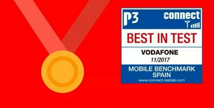 Vodafone, la mejor red por tercer año consecutivo