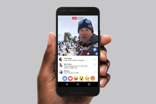 Redes sociales 2016: facebook live